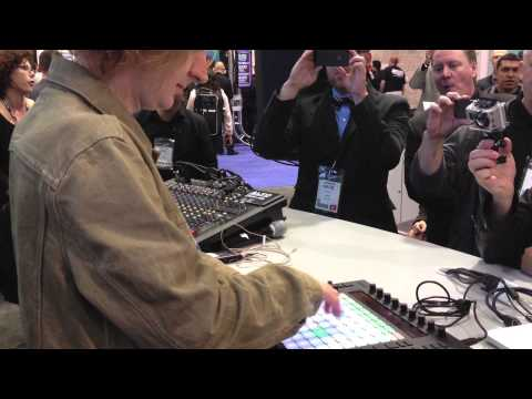 Jeremy Ellis meets Ableton Push