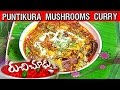 Puntikura Mushrooms (Puttagodugulu) Curry Recipe || Ruchi Chudu || Vanitha TV