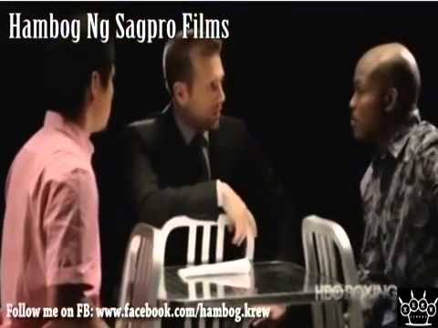 Pacquiao VS Bradley Interview Sagpro Films 3gp