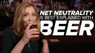 Net neutrality explained with beer - CNETTV