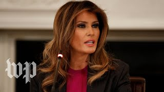 Melania Trump says critics won't stop her from tackling cyberbullying - WASHINGTONPOST