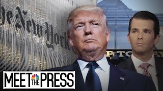Trump goes on offense against political opponents after North Korea | Meet The Press | NBC News - NBCNEWS