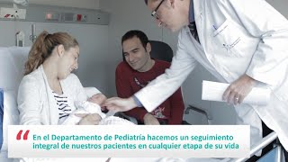 Servicio de Pediatría del Hospital Universitari Dexeus