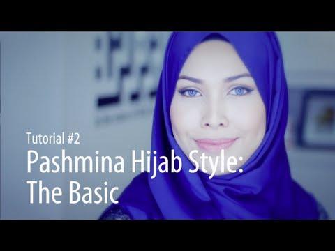 [Adlina Anis] Hijab Tutorial 2 | The Basic Pashmina