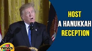 President Trump And The First Lady Host a Hanukkah Reception | Mango News - MANGONEWS