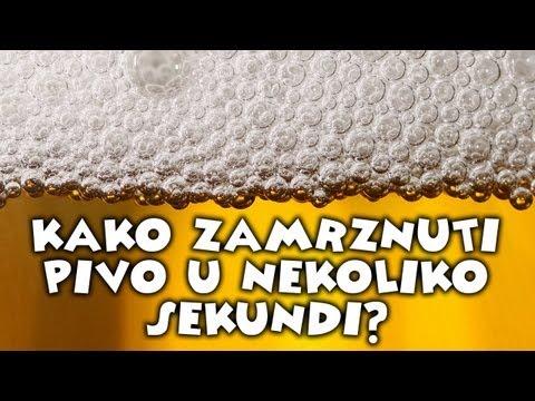 Kako da zamrznete pivo za nekoliko sekundi?