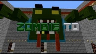 zombie tower defense in minecraft style thumbnail