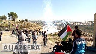 Palestinians protesters demand Ahed Tamimi's release - ALJAZEERAENGLISH