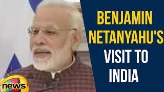 PM Modi Says, Benjamin Netanyahu's visit to India is long anticipated moment | Mango News - MANGONEWS