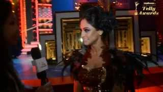 13th Indian Telly Awards special: Krystle Dsouza glams up the stage - TELLYCHAKKAR