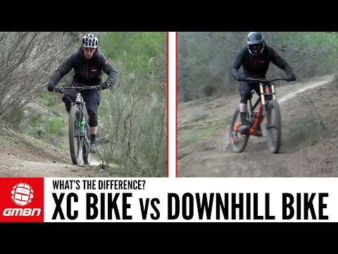 DH Bike Vs Cross Country Mountain Bike – What Are The Differences?