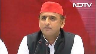 सपा अध्यक्ष अखिलेश यादव का बीजेपी पर तीखा हमला - NDTVINDIA