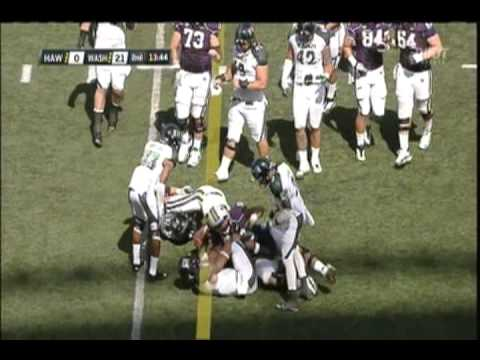(9-10-2011) Washington Huskies vs. Hawaii Warriors Football