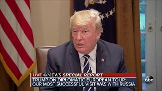 Trump discusses his summit with Russian Pres. Putin amid backlash | ABC News - ABCNEWS