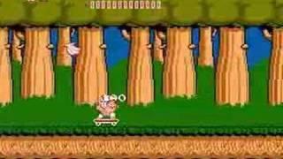 Adventure Island NES speed run 39:41 (Part 1)