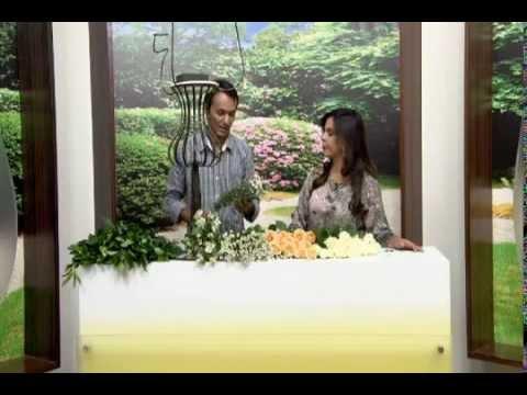 TUDO POSSO com Sula Miranda - Arranjo floral alto para centro de mesa