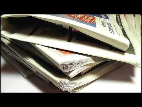 55. 3D Newspaper (Binaural / Holophonic - Wear Headphones) - SOUNDsculptures (ASMR)