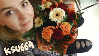 ФЛОРИСТИКА  VLOG: Рабочие будни флориста 26!   Я ПРЕПОДАЮ))) ksu66a