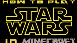 How to play Star Wars: A New Hope in Minecraft(Tekkit-Computer Craft)