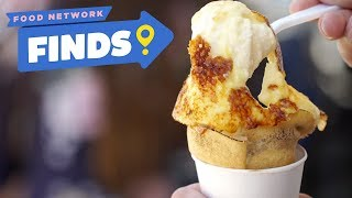 Creme Brûlée Crepes at Millet Crepe | Food Network Finds - FOODNETWORKTV