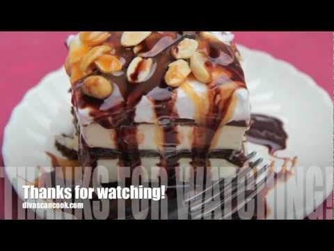 Snickers Ice Cream Sandwich Cake Recipe
