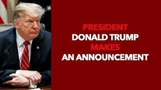 President Trump Makes an Announcement - VOAVIDEO