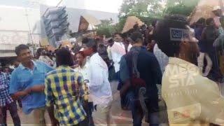 Huge Crowd At Mega Star Chiranjeevi 61 Birthday Celebrations | TFPC - TFPC