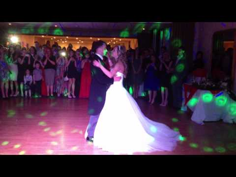 First Dance Rachel & Jason Cave Castle - VJ Sean Barlow