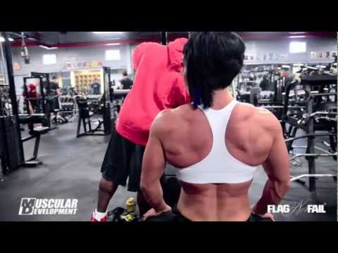 Dana Linn Bailey  - Back Workout