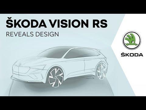 Autoperiskop.cz  – Výjimečný pohled na auta - ŠKODA VISION RS odhaluje design příští generace modelů RS a budoucího kompaktního modelu