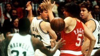 Montage Of Incredible Larry Bird Passes