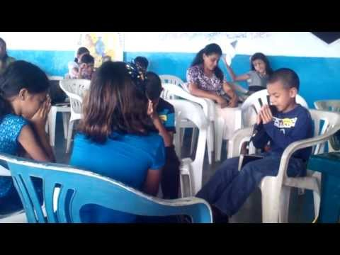 Estudio Bíblico entre niños