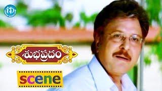 Subhapradam Movie Scenes - Sarath Babu Adopts Manjari Phadnis || Allari Naresh || Giri Babu - IDREAMMOVIES