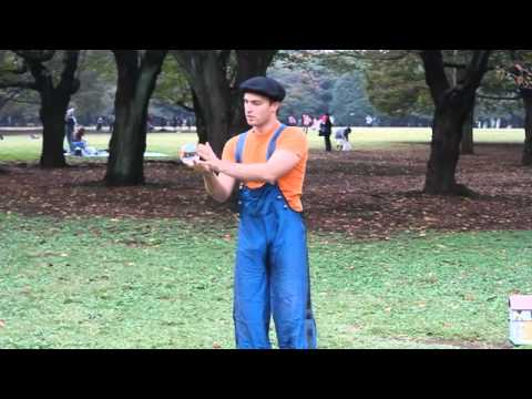 Contact Juggling by Pich 2009 Yoyogi Park