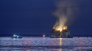 Oil rig explodes near New Orleans - ABCNEWS