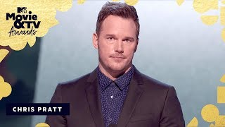 Chris Pratt is Our Generation Award Recipient | 2018 MTV Movie & TV Awards - MTV