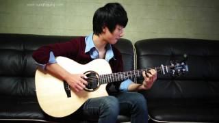 Gitaris muda dari Asia paling mantab, semua cover solonya keren...