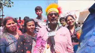 16 Mar,2019 : Women 'beat' men with sticks as part of Holi festivities in Indian town - ANIINDIAFILE