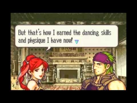Fire Emblem: The Sacred Stones - Gerik & Tethys Support