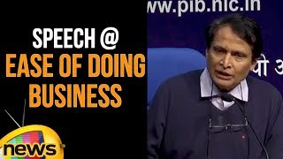 Union Minister Suresh Prabhu Speech over India's 77th Rank at Ease of Doing Business Index|MangoNews - MANGONEWS