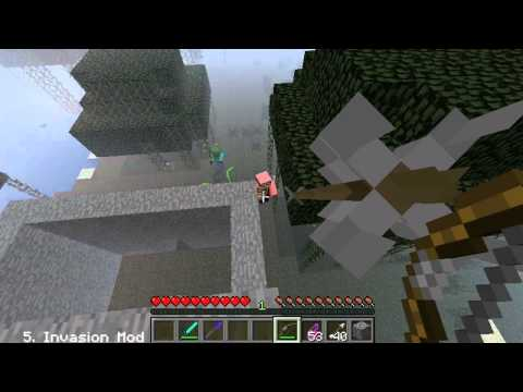 Top 10 Minecraft Mods | 2012 | 1.2.5 | 10-4 | Part 1/2 |