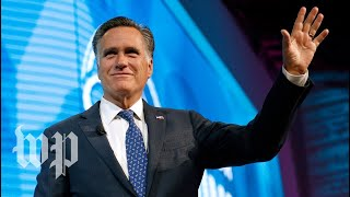 Romney makes Senate run official - WASHINGTONPOST