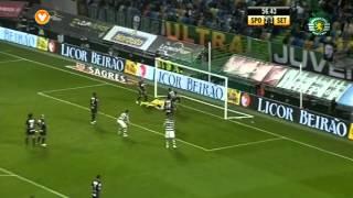 23J :: Sporting - 2 x V.Setúbal - 1 de 2012/2013