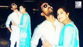 Ram Charan's ROMANTIC Pose With Upasna | Lehren Telugu - LEHRENTELUGU