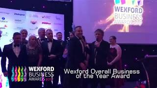 Nolan Transport -Wexford Overall Business of the Year Award 2017