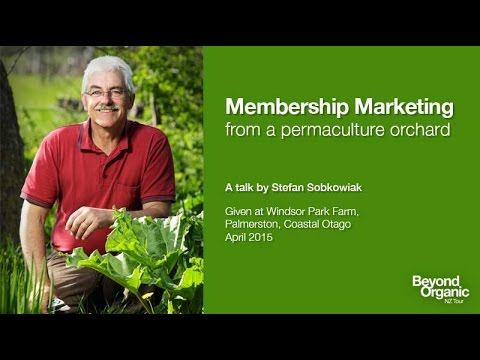 Membership Marketing from a Permaculture Orchard
