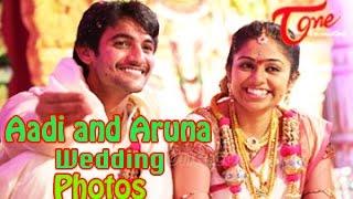 Aadi and Aruna Wedding Photos - TELUGUONE