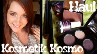 oOMauMouseOo – [Haul] Kosmetik Kosmo (+ Sleek) Reviews & Louma Verlosungs Auflösung
