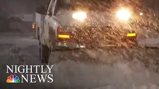 Several Southern States Reeling After Receiving Record Snow | NBC Nightly News - NBCNEWS