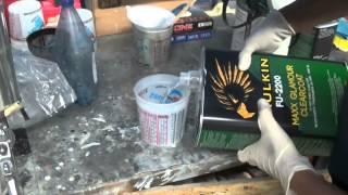 Подготовка  и покраска Авто новичком